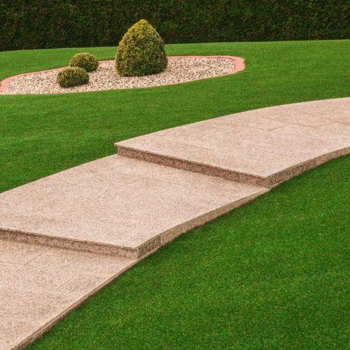 Jardins, espaces verts, contours de piscine